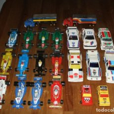 Slot Cars: COLECCION COCHES DE SCALEXTRIC POLICAR POLISTIL MADE IN ITALY. Lote 154301978
