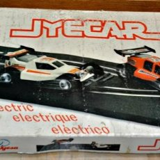 Slot Cars: ANTIGUO SCALEXTRIC DE JYESA - JYECAR REF. 2030 - COCHES BUGGY COMPLETO. Lote 154843870