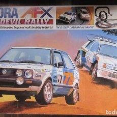 Slot Cars: AURORA AFX DAREDEVIL RALLY. ELEMENTOS EN BUEN ESTADO. CAJA DETERIORADA.. Lote 155080086