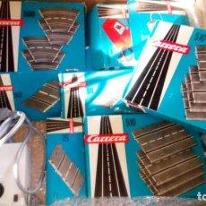 Slot Cars: PISTAS SCALEXTRIC CARRERA AÑOS 60-70. Lote 143081274