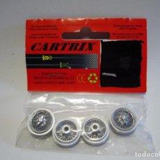 Slot Cars: LLANTAS CLASSIC DE RADIOS CARTRIX NUEVAS. Lote 155502294