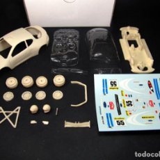 Slot Cars: MINIREPLICAS 1/32 FORD PUMA RALLY MONTECARLO DUVAL 2002 - KIT RESINA SLOT SCALEXTRIC. Lote 159453750
