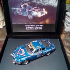 Slot Cars: ALPINE A110 RESINA WHEEMS . Lote 155986830