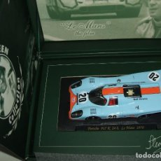 Slot Cars: PORSCHE 917 K STEVE MCQUEEN DE FLY REF.-SM3. Lote 156576122