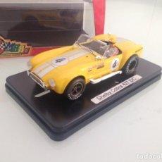 Slot Cars: SLOT,MRRC MC-9919, SHELBY COBRA 427 SC Nº4, GSR 2002. Lote 158006906