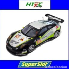 Slot Cars: SUPERSLOT PORSCHE 911 RSR #93 LE MANS 2017 PROTON COMPETITION SCALEXTRIC UK 4020. Lote 215279630