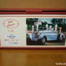 Slot Cars: SLOT CLASSIC HISPANO SUIZA TYPE 68 REF-CJ-33 RTR NUEVO CON SU CAJA ORIGINAL. Lote 158314486