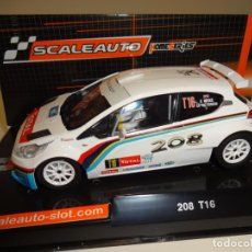 Slot Cars: SCALEAUTO. PEUGEOT 208. RALLY YPRESS 2013. REF. SC-6181. Lote 158477694