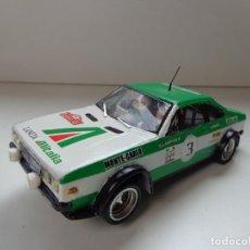 Slot Cars: LANCIA BETA COUPÉ #3 LAMPINEN SODANO MONTECARLO 1975, RESINA SLOT 1:32 Y CHASIS SCALEXTRIC CON MOTOR. Lote 158982802