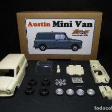 Slot Cars: LAGARTIJAKIT SLOT 1/32 AUSTIN MINI VAN - AUTHI - MORRIS - KIT RESINA CLASSIC. Lote 159108322