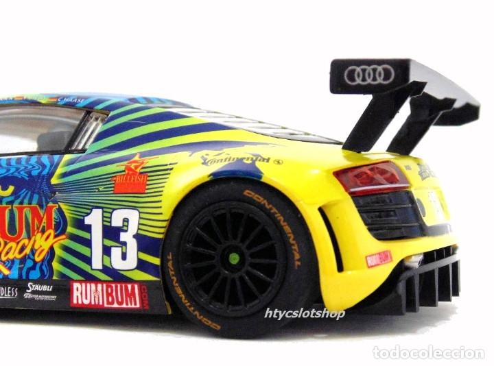 Slot Cars: SUPERSLOT AUDI R8 GT3 #13 BIELA / HAASE / PLUMB / WINKELHOCK DAYTONA 2013 RUM BUM SCALEXTRIC UK 3854 - Foto 10 - 84790692