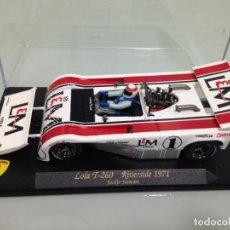 Slot Cars: SLOT, MG-VANQUISH CA 11,LOLA T260-CHEVROLET 8,1L.LM, JACKIE STEWART, RET. CAN-AM RIVERSIDE 1971. Lote 159689190
