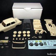 Slot Cars: MINIREPLICAS 1/32 PEUGEOT 404 SAFARI RALLY - KIT RESINA SLOT SCALEXTRIC. Lote 155908718