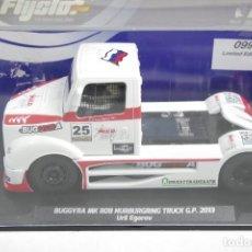 Slot Cars: FLY SLOT. BUGGYRA MK R08. NURBURGRING GP TRUCK 2013 ED. LIM.. Lote 159973998