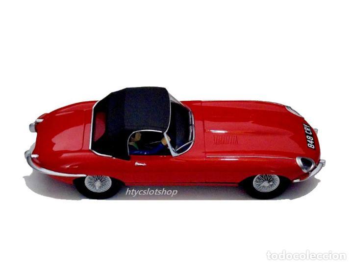 Slot Cars: SUPERSLOT JAGUAR E-TYPE 848CRY ROJO THE ITALIAN JOB SCALEXTRIC UK H4032 - Foto 3 - 161533728