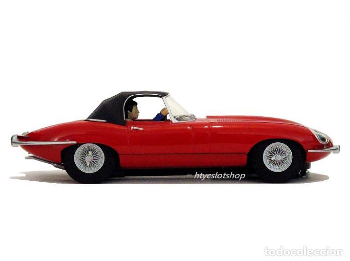 Slot Cars: SUPERSLOT JAGUAR E-TYPE 848CRY ROJO THE ITALIAN JOB SCALEXTRIC UK H4032 - Foto 6 - 161533728
