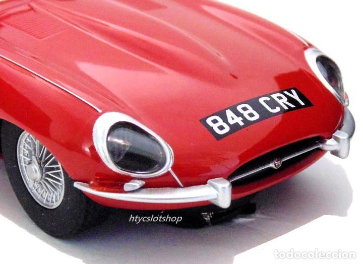 Slot Cars: SUPERSLOT JAGUAR E-TYPE 848CRY ROJO THE ITALIAN JOB SCALEXTRIC UK H4032 - Foto 8 - 161533728