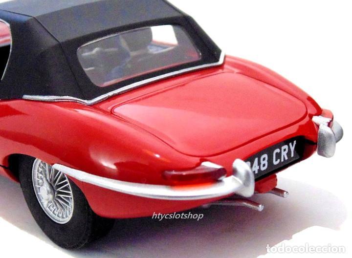 Slot Cars: SUPERSLOT JAGUAR E-TYPE 848CRY ROJO THE ITALIAN JOB SCALEXTRIC UK H4032 - Foto 9 - 161533728