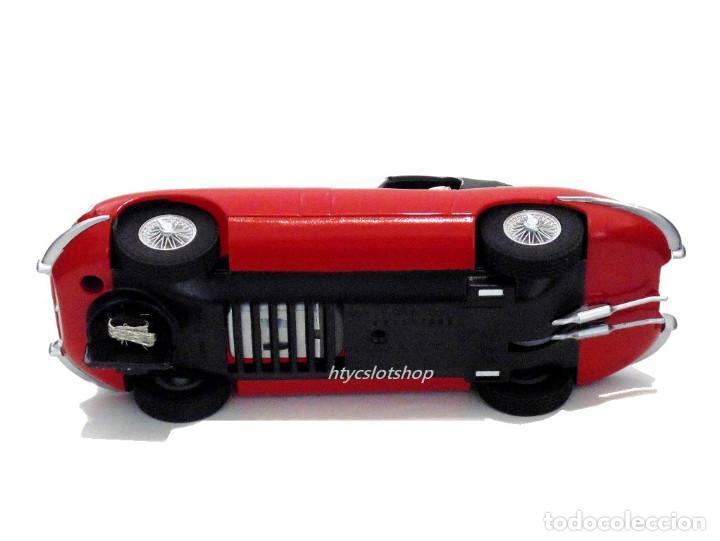 Slot Cars: SUPERSLOT JAGUAR E-TYPE 848CRY ROJO THE ITALIAN JOB SCALEXTRIC UK H4032 - Foto 10 - 161533728