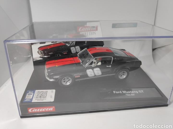 CARRERA EVOLUTION FORD MUSTANG GT N°66 REF. 20027553 (Juguetes - Slot Cars - Magic Cars y Otros)