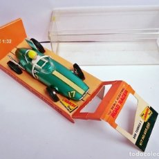 Slot Cars: SLOT LINDBERG ROAD RACER ELECTRIC / FORMULA 1 - BRM / MADE IN USA 1965 - PLÁSTICO. Lote 93626660