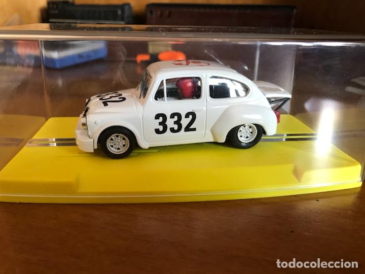REPROTEC FIAT ABARTH BLANCO (Juguetes - Slot Cars - Magic Cars y Otros)