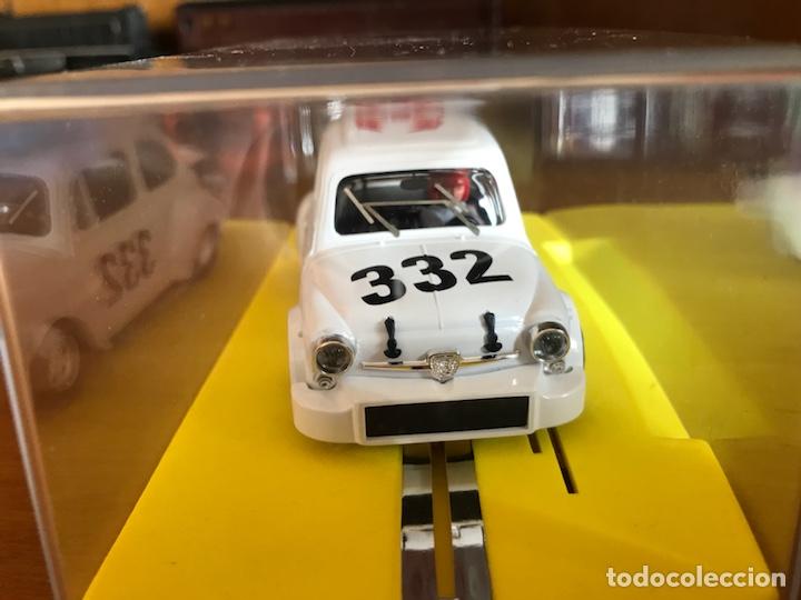 Slot Cars: Reprotec Fiat abarth blanco - Foto 2 - 162928924