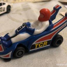 Slot Cars: TCR KART COLOR AZUL EN EXCELENTE ESTADO. Lote 162986588
