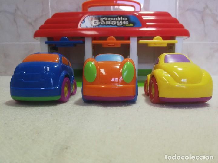 MOBILE GARAJE KEENWAY COMO NUEVO!!! (Juguetes - Slot Cars - Magic Cars y Otros)