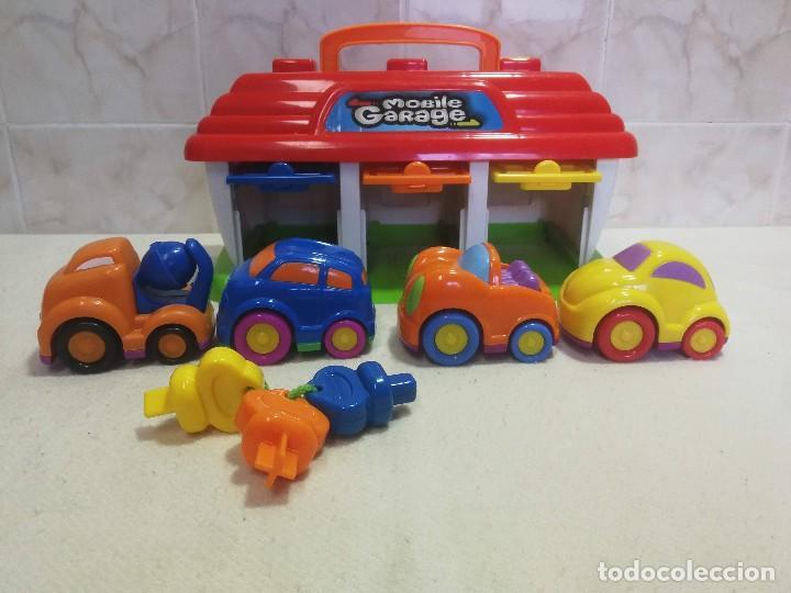 Slot Cars: Mobile Garaje Keenway COMO NUEVO!!! - Foto 3 - 185724165