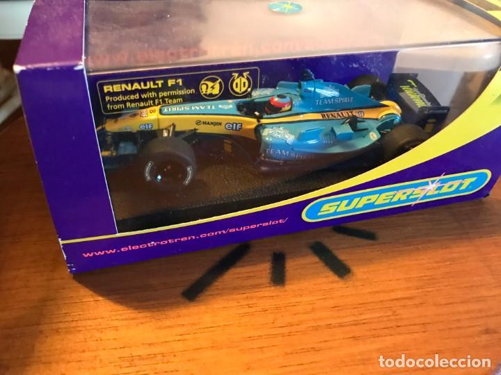 FERNANDO ALONSO F1- RENAULT - ELECTROTEN SUPERSLOT (Juguetes - Slot Cars - Magic Cars y Otros)