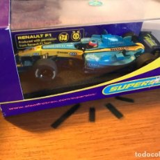 Slot Cars: FERNANDO ALONSO F1- RENAULT - ELECTROTEN SUPERSLOT. Lote 163546226