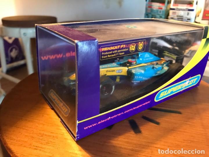 Slot Cars: FERNANDO ALONSO F1- RENAULT - ELECTROTEN SUPERSLOT - Foto 2 - 163546226