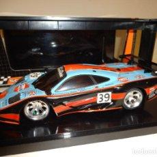 Slot Cars: KYOSHO - SCALEAUTO. 1/24. MCLAREN BMW F1 GTR GULF. Lote 163570478