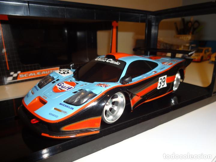 Slot Cars: Kyosho - Scaleauto. 1/24. McLaren BMW F1 GTR Gulf - Foto 3 - 163570478