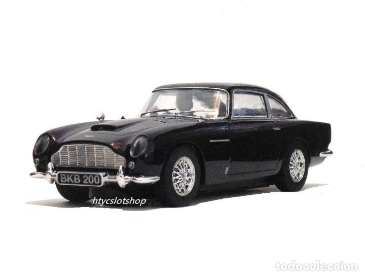 Slot Cars: SUPERSLOT ASTON MARTIN DB5 GLOSSY BLACK SCALEXTRIC UK H4029 - Foto 5 - 176207629