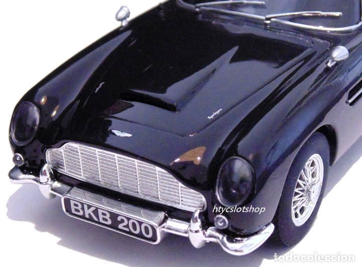 Slot Cars: SUPERSLOT ASTON MARTIN DB5 GLOSSY BLACK SCALEXTRIC UK H4029 - Foto 8 - 176207629