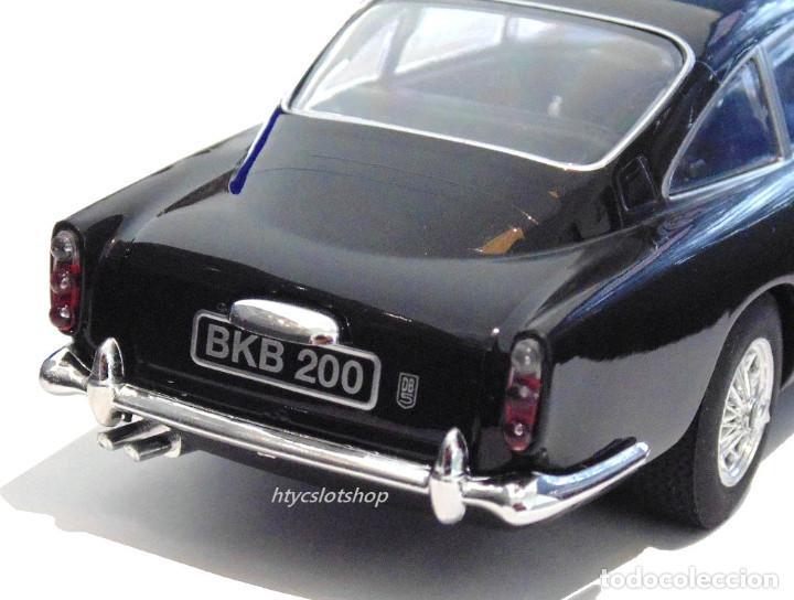 Slot Cars: SUPERSLOT ASTON MARTIN DB5 GLOSSY BLACK SCALEXTRIC UK H4029 - Foto 10 - 176207629
