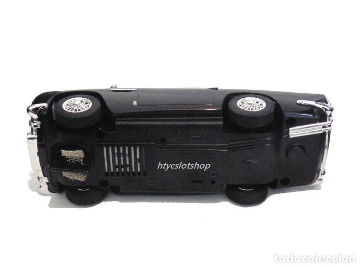 Slot Cars: SUPERSLOT ASTON MARTIN DB5 GLOSSY BLACK SCALEXTRIC UK H4029 - Foto 11 - 176207629
