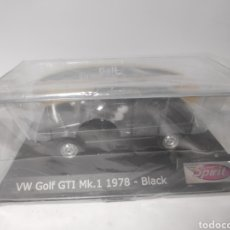 Slot Cars: SPIRIT VW GOLF GT1 MK1 1978 BLACK REF. 0701502. Lote 164759114