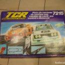 Slot Cars: CIRCUITO SLOT TCR 7215 TOTAL CONTROL RACING COCHES DE CARRERAS. Lote 164765186