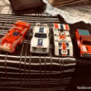 Slot Cars: LOTE DE 4 COCHEE ANTIGUOS. TCR MODELO IBER 1980. Lote 165243728