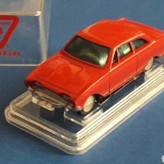 Slot Cars: FORD TAUNUS, SLOT H0, RASANT EUREKA ESC. APROX. 1/65, ORIGINAL AÑOS 60. CON SU CAJA.. Lote 165692749