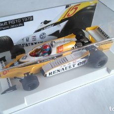 Slot Cars: SRC SLOT RACING CAR RENAULT RS10 1979, F1 JEAN PIERRE JABOULINE. NUEVO,URNA.COMPATIBLE SCALEXTRIC. Lote 178328946