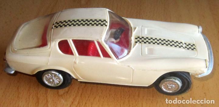 SCALEXTRIC JYECAR MASERATI GT A6 2500 BLANCO AÑOS 60 (Juguetes - Slot Cars - Magic Cars y Otros)