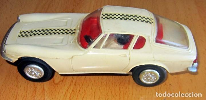 Slot Cars: SCALEXTRIC JYECAR MASERATI GT A6 2500 BLANCO AÑOS 60 - Foto 2 - 166594554