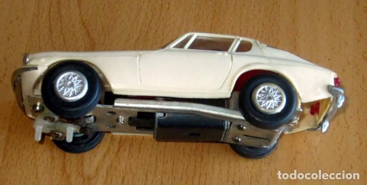 Slot Cars: SCALEXTRIC JYECAR MASERATI GT A6 2500 BLANCO AÑOS 60 - Foto 3 - 166594554