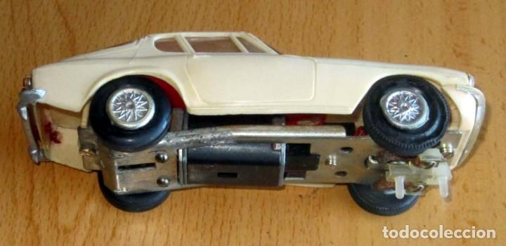 Slot Cars: SCALEXTRIC JYECAR MASERATI GT A6 2500 BLANCO AÑOS 60 - Foto 4 - 166594554