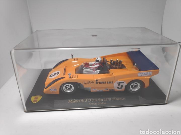 MG VANQUISH MCLAREN M8 D CAN AM 1970 CHAMPION DENNY HULME (Juguetes - Slot Cars - Magic Cars y Otros)