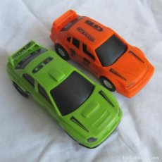 Slot Cars: 2 COCHES TIPO SCALEXTRIC MADE IN CHINA HOT RACING. Lote 167593600